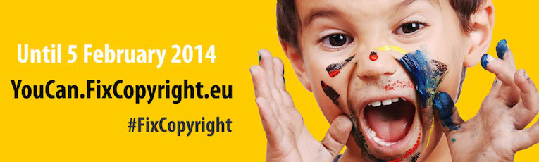 Make your voice heard to fix copyright in the EU!