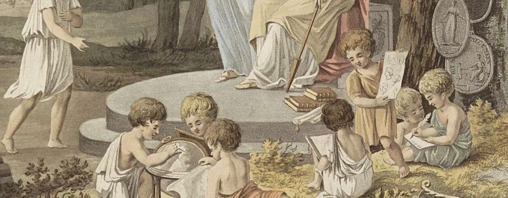 Allegorie op het onderwijs