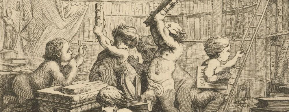 Adreskaart voor boekhandel Scheltema en Holkema