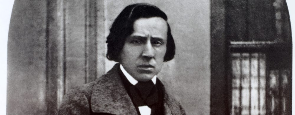 The only known photograph of the famous pianist and composer, taken by Louis Antoine Bisson, public domain.