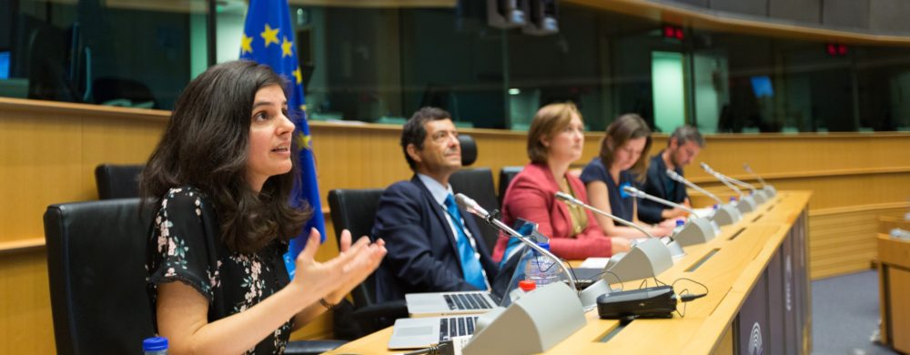 Unlocking Copyright for users panel in the European Parlliament