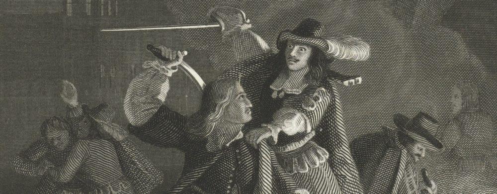 Johan de Witt 's nachts op straat aangevallen