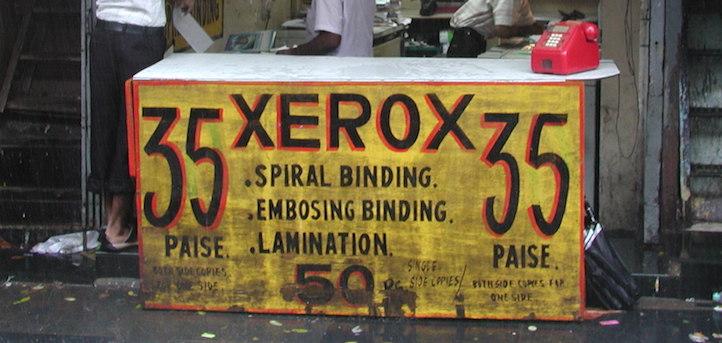 Xerox Stand in Mumbai