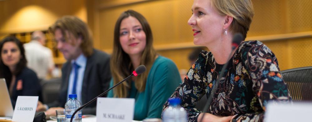 Marietje Schaake and Lisette Kalshoven