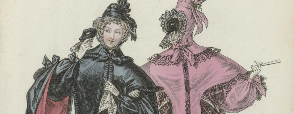 Journal des Dames et des Modes, Costumes Parisiens, fevrier