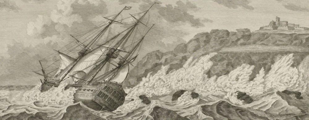 Vergaan van het schip de Vrijheid