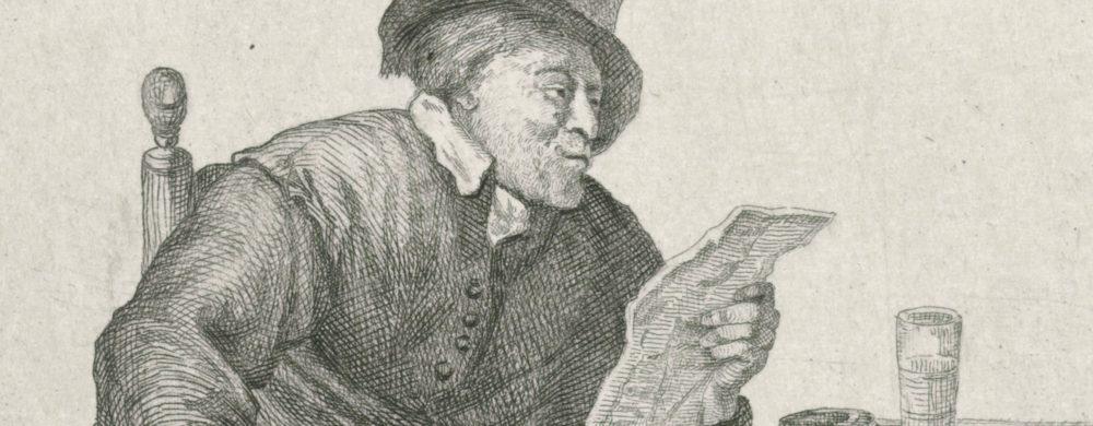 Man met een brief