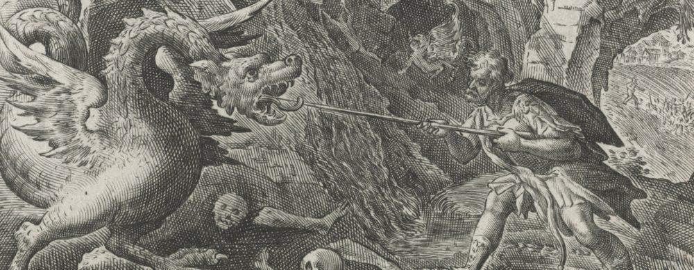 Cadmus doodt de draak