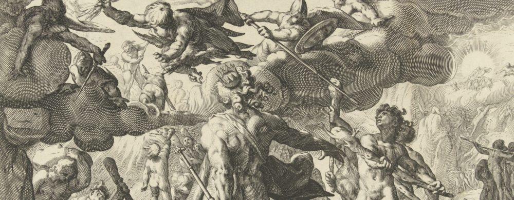 Aanval van de Giganten op de godenwereld