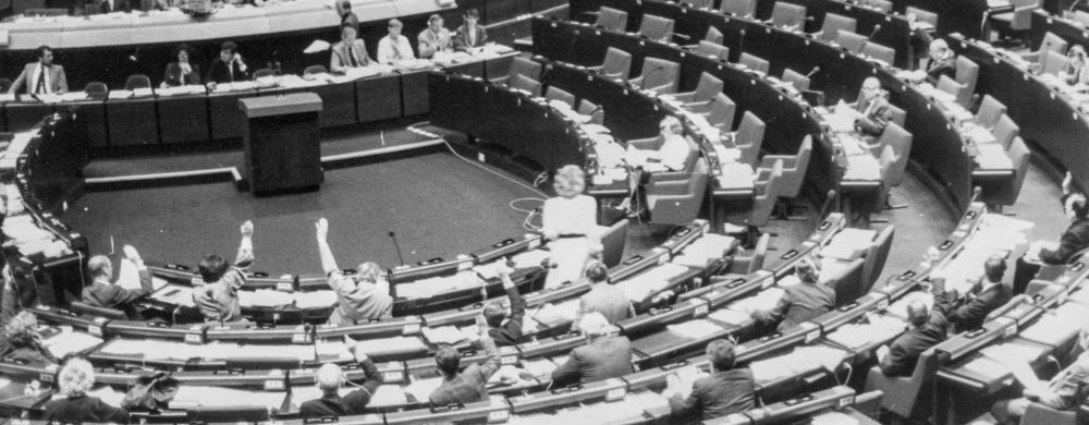European Parliament (before the internet)