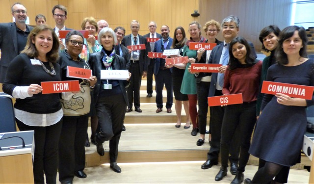 Public interest advocates at WIPO SCCR/38, Geneva, November 2018