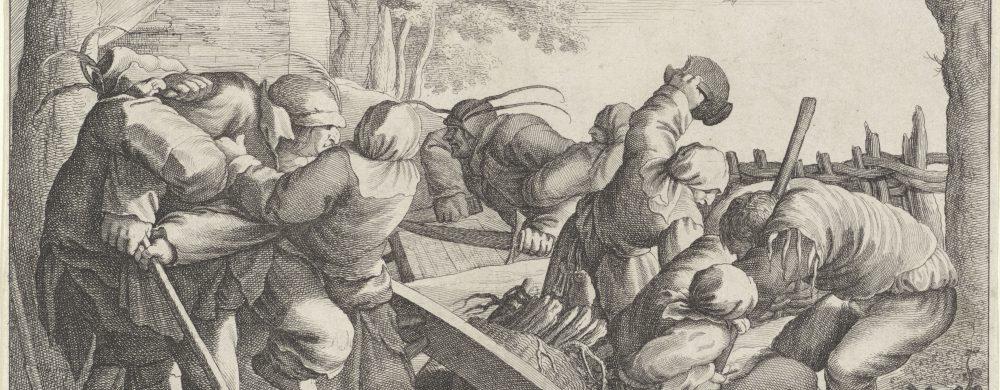 Vechtende boeren