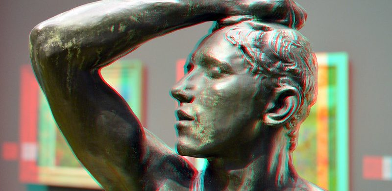 l'Age d'Airain by Rodin. the Age of Bronze by Auguste Rodin 3D